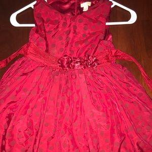 Girls Christmas dress size 6